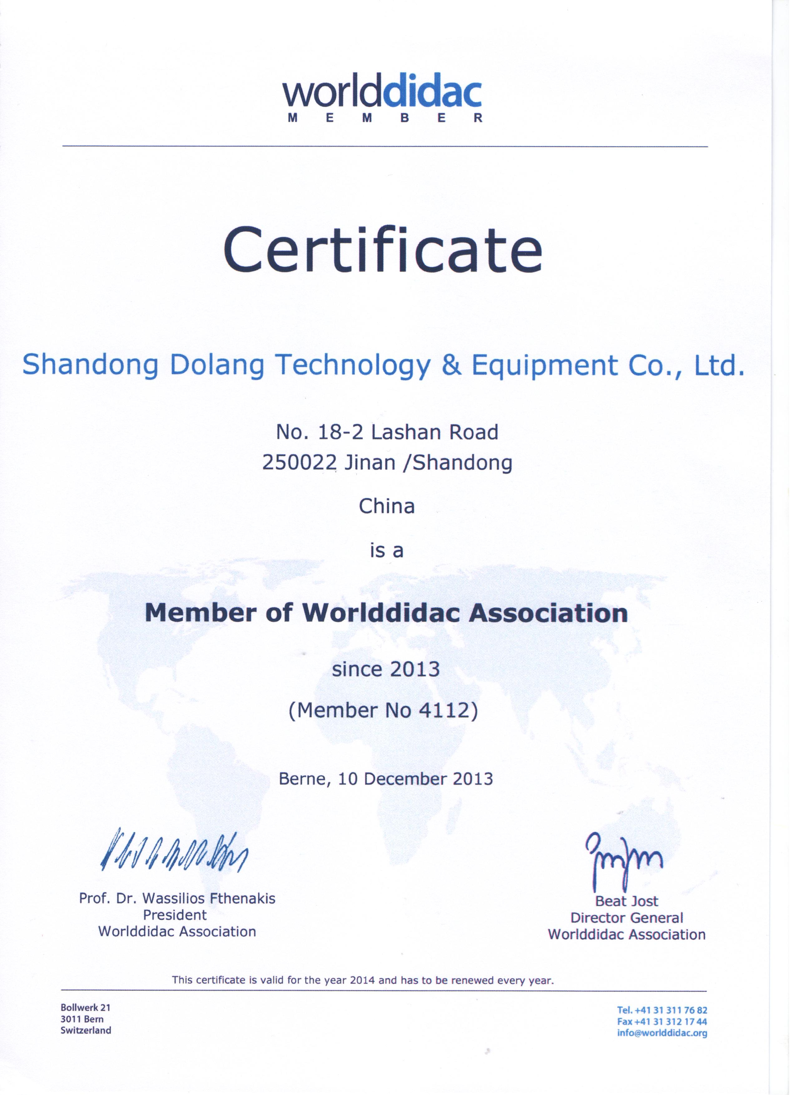 Dolang Teaching Equipment Vocational Training Equipment